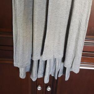 GAP Dresses - Gray high low scoop neck maxi dress